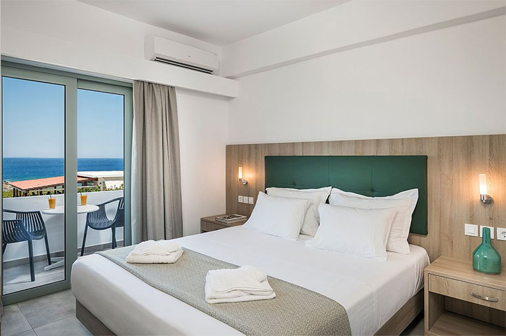 Double bed rooms Elafonisi Glykeria Hotel