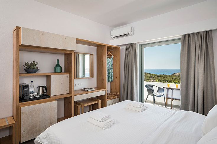 double bed room Elafonisi